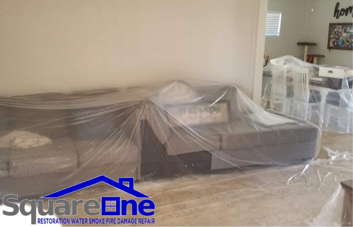 square one restortion water smoke fire damage repair phoenix