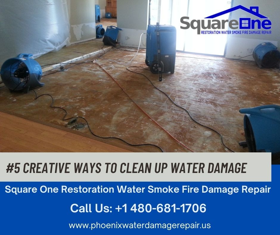 5 Creative Ways to Clean Up Water Damage
