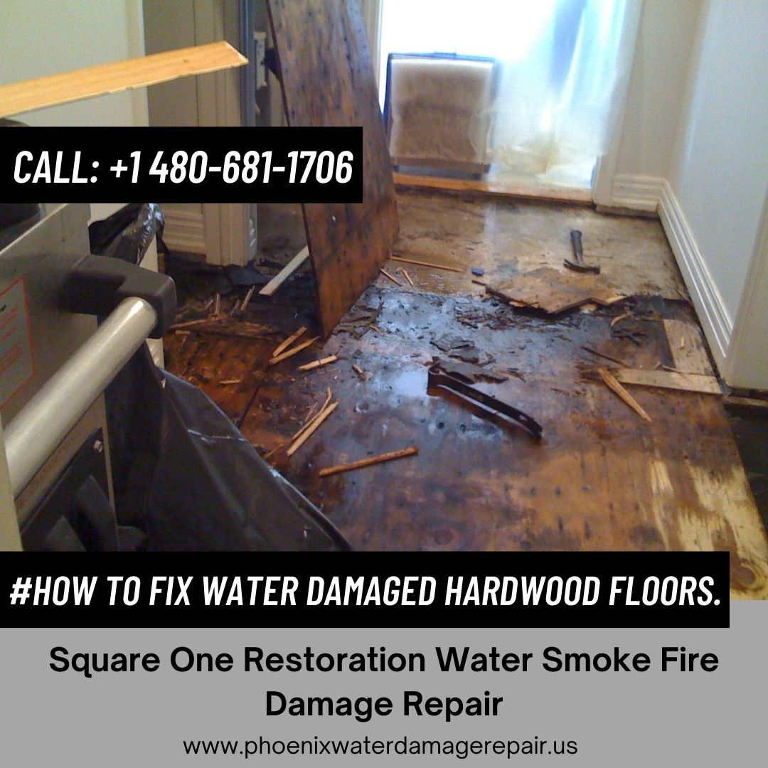 How to Fix Water Damaged Hardwood Floors.