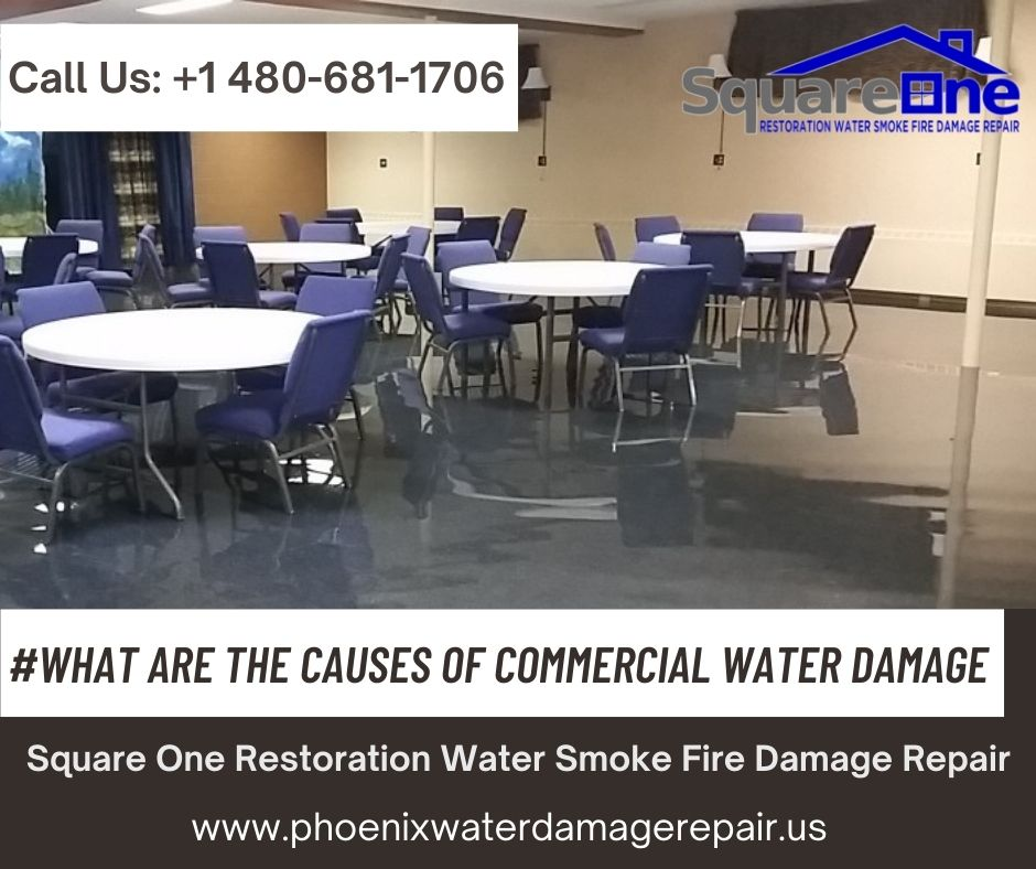What are the Causes of Commercial Water Damage