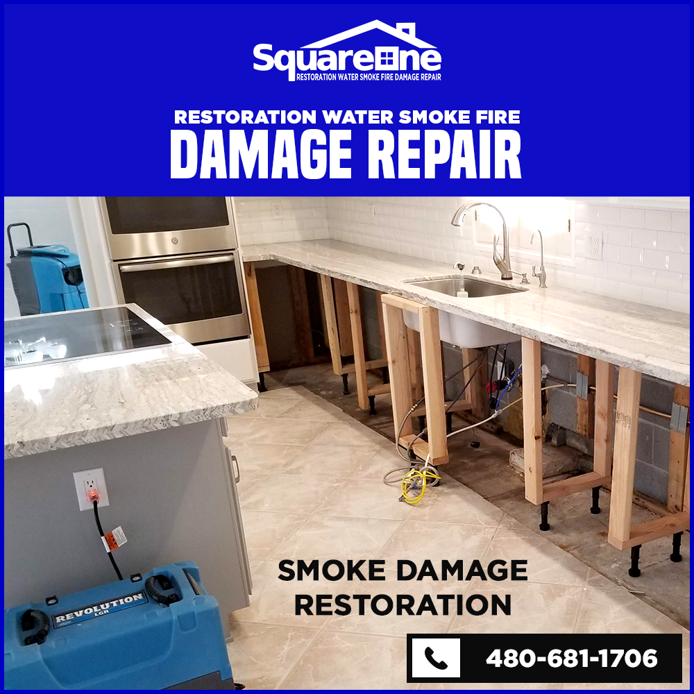 water fire smoke damage restoration phoenix 8